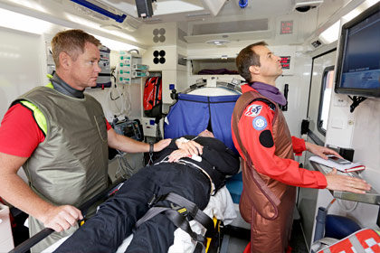 "The first ""Stroke Ambulance"" operates in Norway"