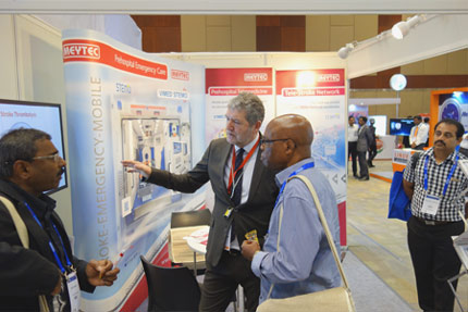 MEYTEC exhibits at the WSC congress in Hyderabad (India)