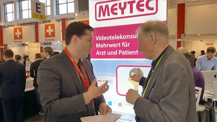 Компания MEYTEC на ярмарке достижений цифровых технологий в медицине conhIT 2017