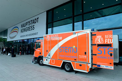 Stroke-Emergency-Mobile (STEMO) at the Capital City Congress for Medicine and Health in Berlin