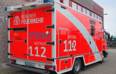 The second STEMO 2.0 is in Berlin's city district Marzahn-Hellersdorf in daily use