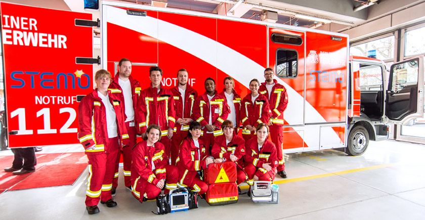 The second Stroke Emergency Mobile (STEMO 2) starts in Berlin