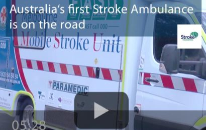 Start der Mobilen Stroke Unit in Melbourne (Australien)