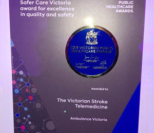 Award for telemedicine project VST