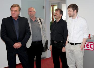 Brandenburgs Wirtschaftsminister besucht MEYTEC GmbH Informationssysteme